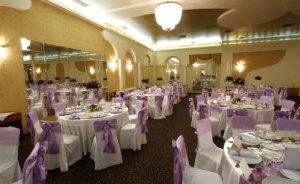 Wide and stylish grand ballroom